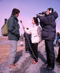Interview with Bart Ebbinge by Japanese television